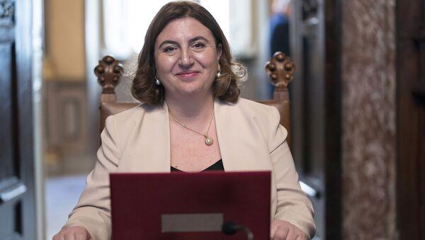 Il Ministro del Lavoro e delle Politiche Sociali, Nunzia Catalfo - Sputnik Italia