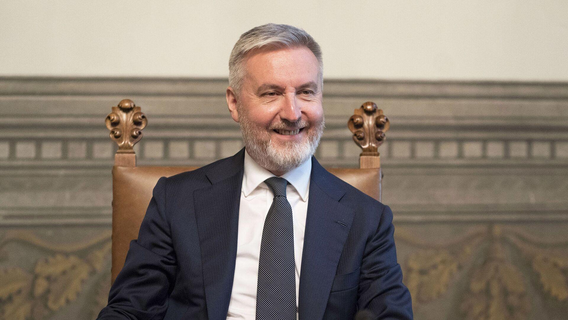 Il Ministro della Difesa, Lorenzo Guerini - Sputnik Italia, 1920, 14.08.2021