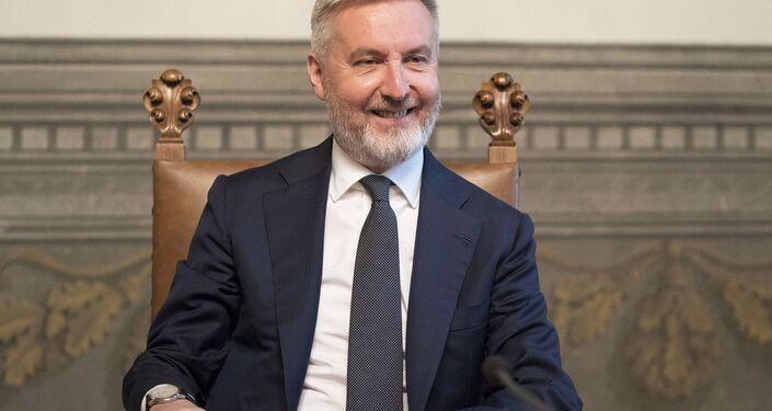 Il Ministro della Difesa, Lorenzo Guerini
