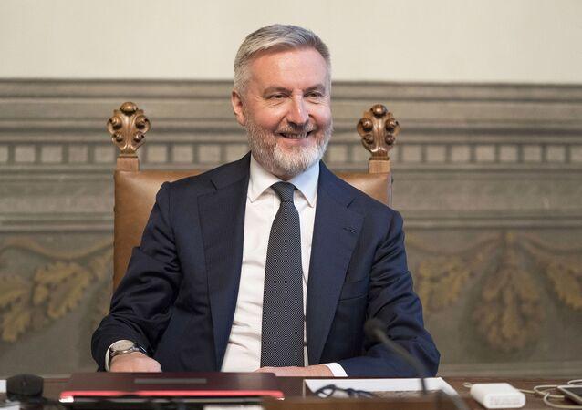 Il ministro della Difesa Lorenzo Guerini