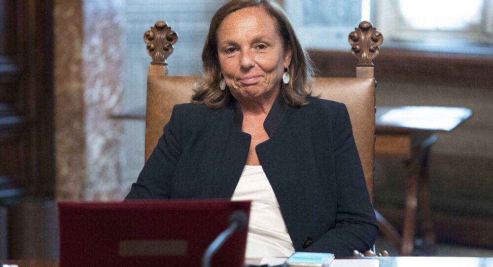 Il Ministro dell'Interno, Luciana Lamorgese