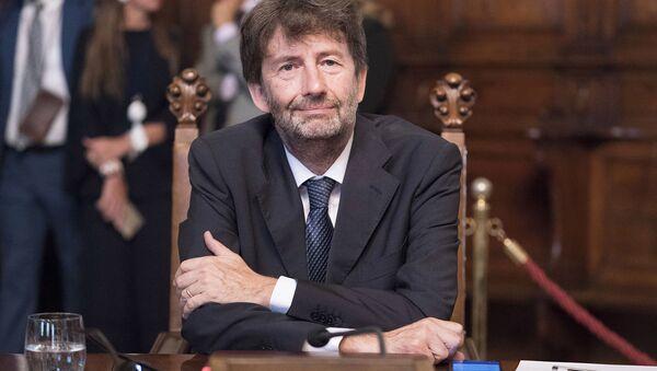 Il Ministro per i Beni e le Attività Culturali, Dario Franceschini - Sputnik Italia