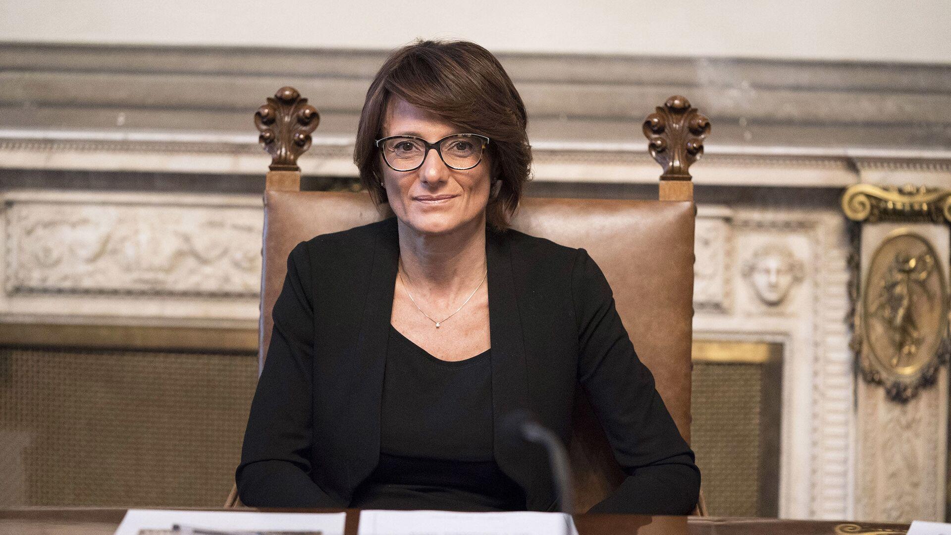 Il Ministro per le Pari Opportunità e la Famiglia, Elena Bonetti - Sputnik Italia, 1920, 30.04.2021