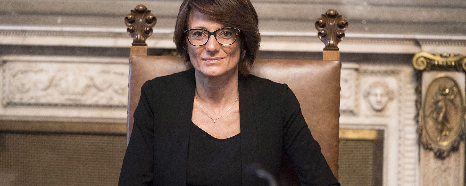 Il Ministro per le Pari Opportunità e la Famiglia, Elena Bonetti - Sputnik Italia, 1920, 21.02.2021