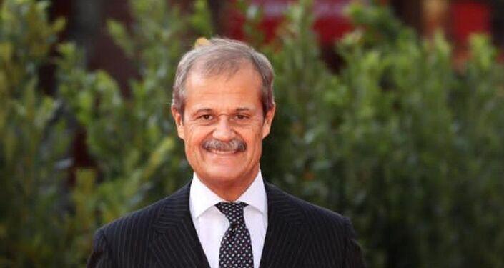 L'Ambasciatore Giampiero Massolo, Presidente dell'Osservatorio permanente sui Temi Internazionali dell'Eurispes, Presidente di Fincantieri e di ISPI.