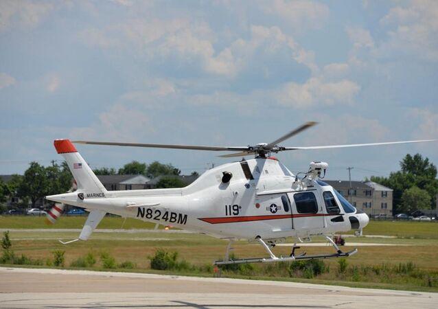 Esemplare di elicottero TH-73A