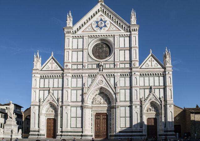 Facciata della Basilica di Santa Croce, Firenze