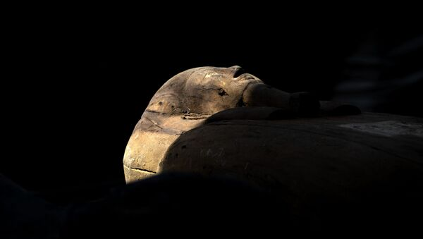 Un sarcofago - Sputnik Italia