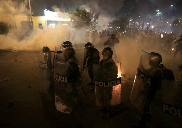 Protestas en Perú contra el nuevo Gobierno