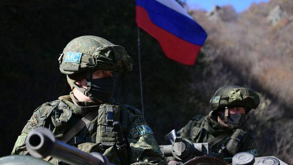 Peacekeeper russi nel Nagorno-Karabakh - Sputnik Italia