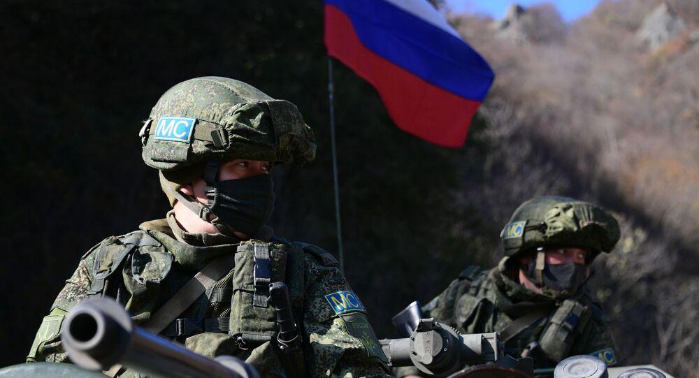 Peacekeeper russi nel Nagorno-Karabakh