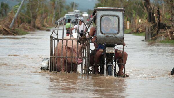 Filippine tifone Vamco - Sputnik Italia