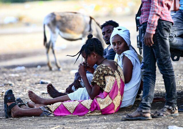 Profughi etiopi in Sudan