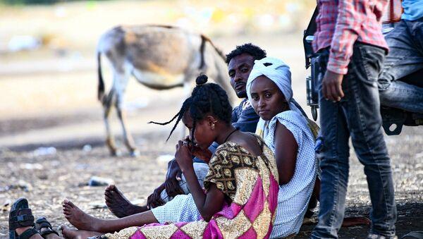 Profughi etiopi in Sudan - Sputnik Italia