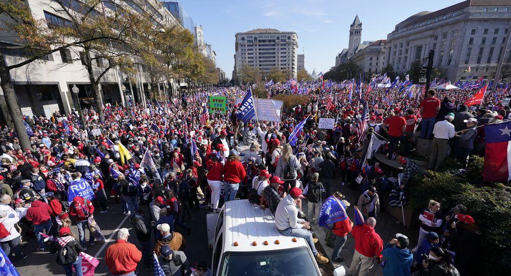 Washington proteste pro-Trump