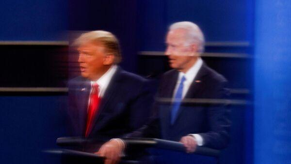 Donald Trump e Joe Biden - Sputnik Italia
