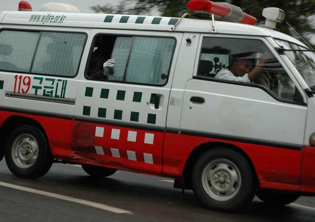 Ambulanza in Etiopia