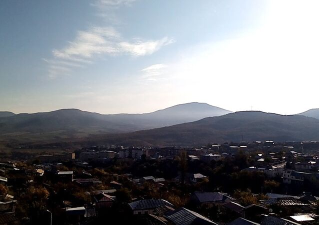 La città di Stepanakert