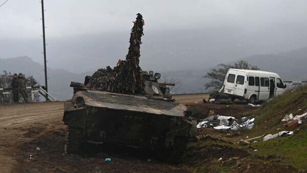 Conflitto nel Nagorno-Karabakh - Sputnik Italia
