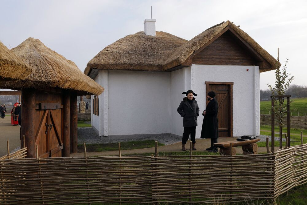 Parco etnico Slobozhanshchina nella regione di Belgorod, Russia.