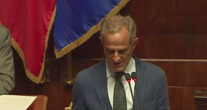 Il senatore di Forza Italia Francesco Giro