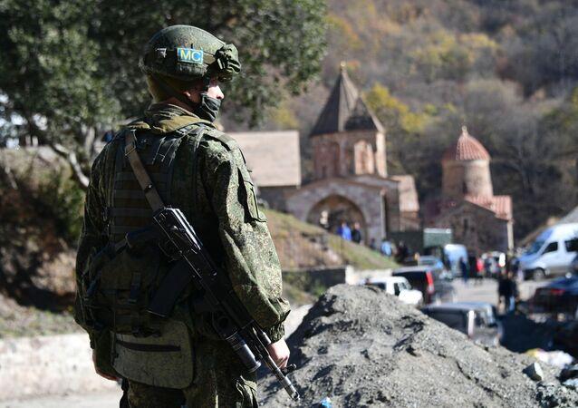 Peacekeeper russi in Nagorno-Karabakh