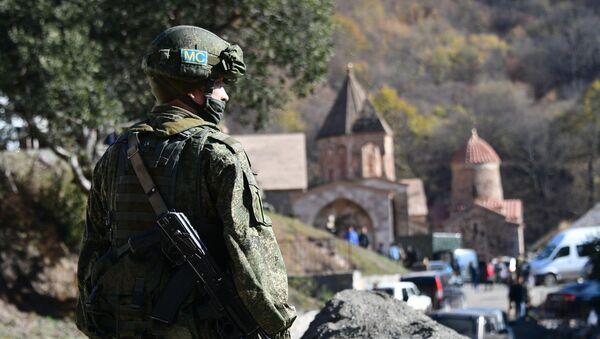 Peacekeeper russi in Nagorno-Karabakh - Sputnik Italia