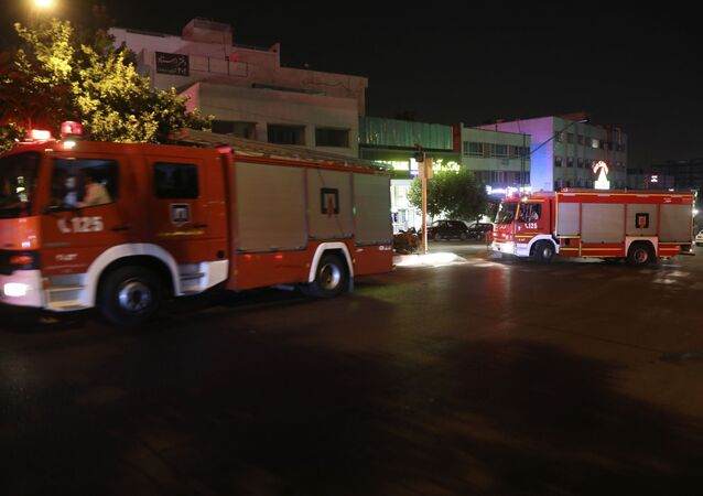 Firefighters , Iran (File)