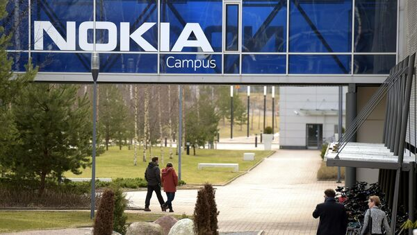 La sede centrale di Nokia si trova a Espoo, in Finlandia, il 6 aprile 2016. - Sputnik Italia