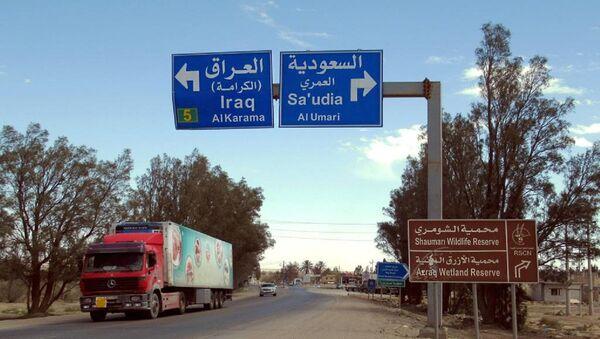 Signes routiers «Irak» et «Arabie saoudite» - Sputnik Italia