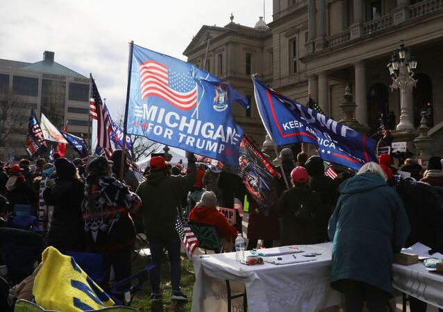 Manifestazione a sostegno di Trump, Michigan