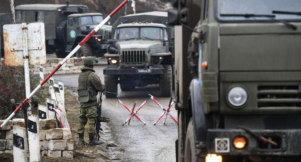 """La """"strada della vita"""" del Karabakh, il noto Corridoio di Laçın, è nuovamente accessibile alla popolazione locale"""