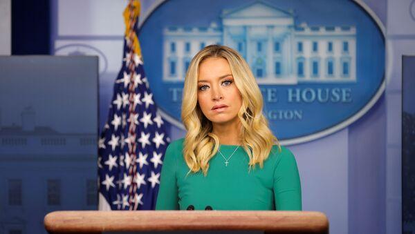 Kayleigh McEnany, segretario stampa della Casa Bianca - Sputnik Italia