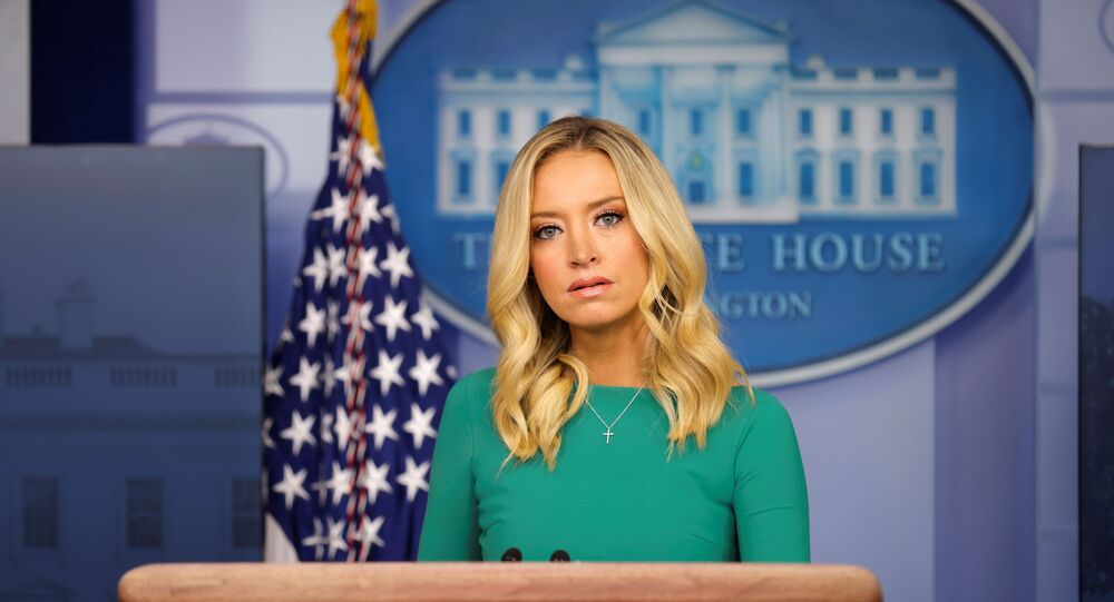 White House Press Secretary Kayleigh McEnany holds a press briefing at the White House in Washington, U.S., November 20, 2020.