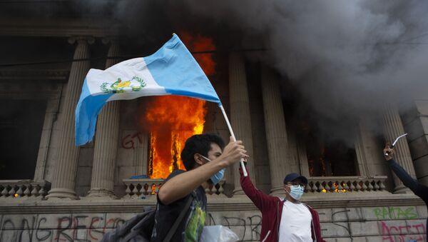 Proteste in Guatemala, 21 novembre 2020 - Sputnik Italia