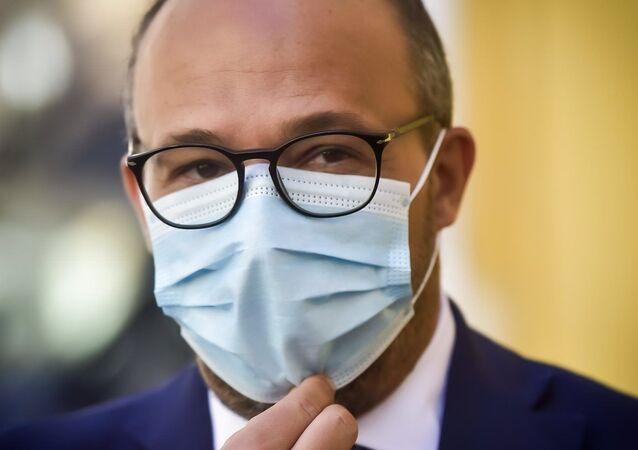 Il senatore di Italia viva Davide Faraone