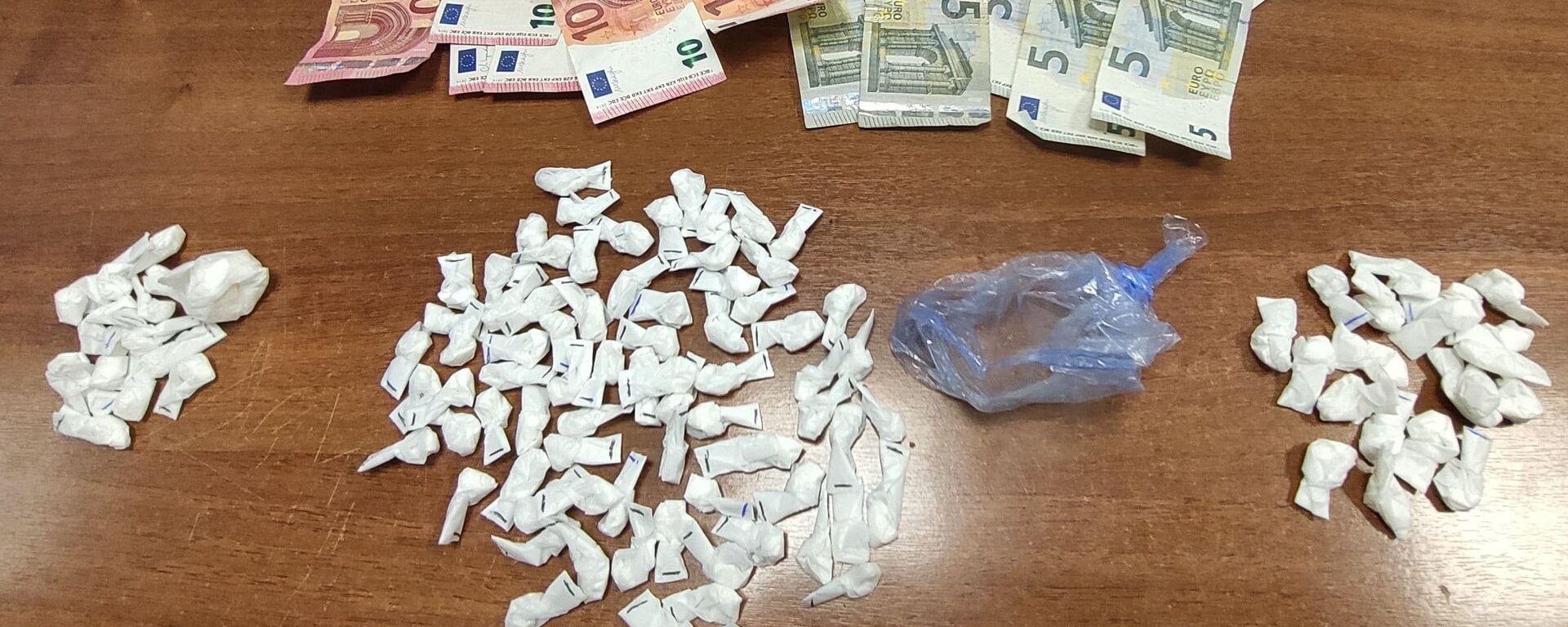 droga e denaro sequestrati dalla polizia di stato a Roma - Sputnik Italia, 1920, 06.09.2021