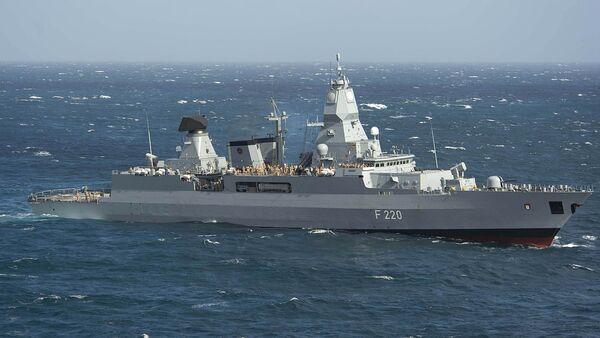 La fregata tedesca Hambourg - Sputnik Italia