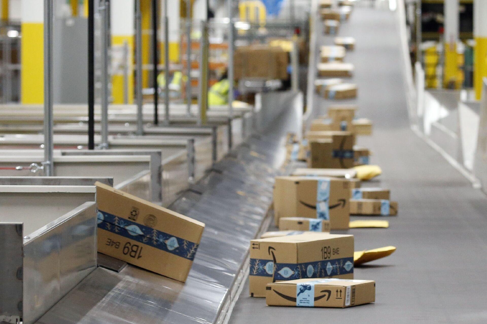 """Amazon: 22 marzo è primo sciopero, trattativa con l'azienda """"si è interrotta bruscamente - Sputnik Italia, 1920, 11.03.2021"""