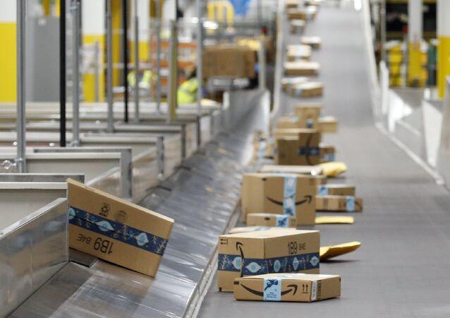 Uno stabilimento Amazon