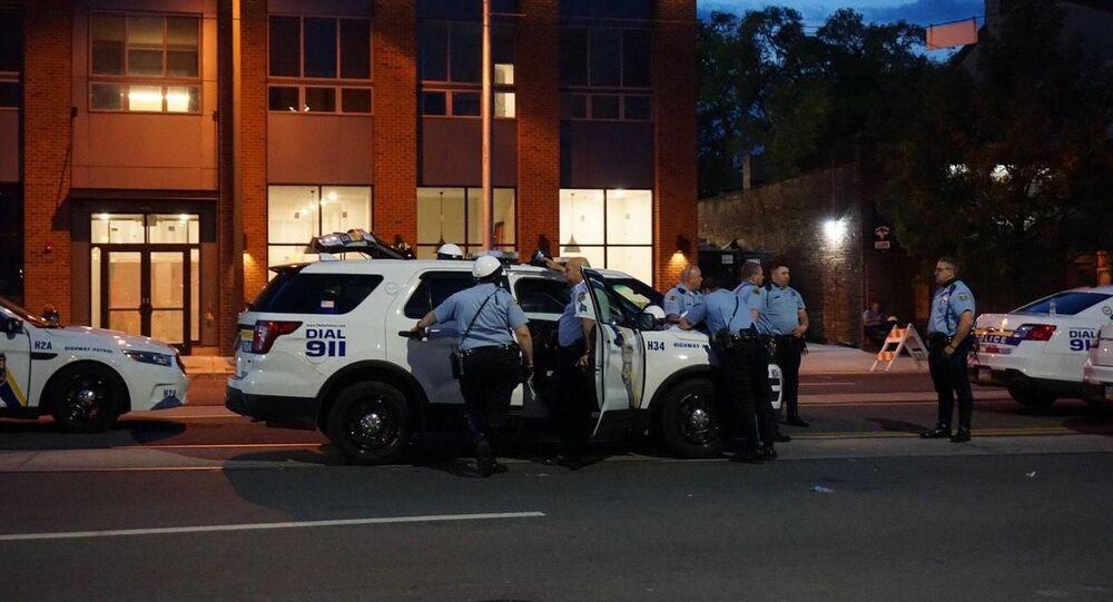 Polizia a Filadelfia, Stati Uniti