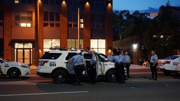 Polizia a Filadelfia, Stati Uniti - Sputnik Italia
