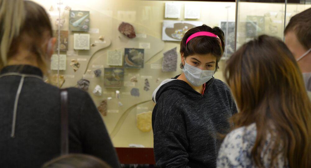 Coronavirus in Russia - novembre 2020 museo paleontologico