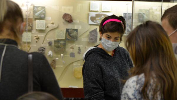 Coronavirus in Russia - novembre 2020 museo paleontologico - Sputnik Italia