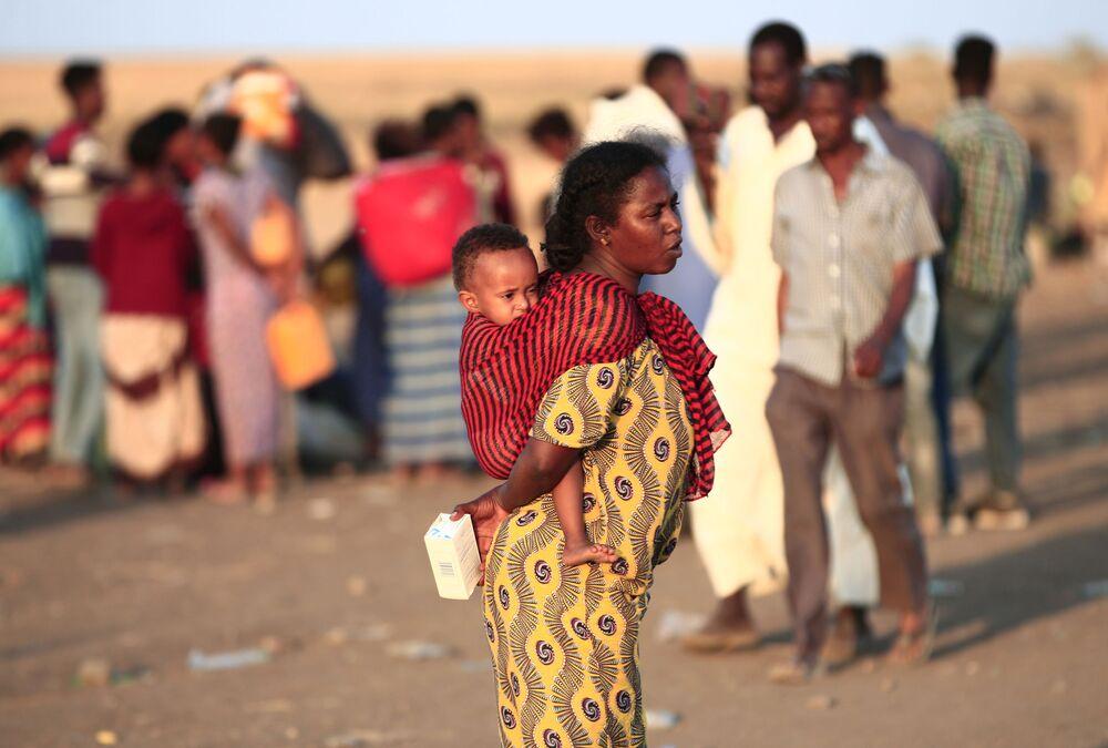 Nei giorni scorsi l'ONU aveva avvertito circa il probabile afflusso di profughi dalle zone di conflitto dell'Etiopia settentrionale