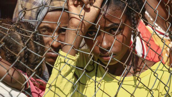 Эфиопские беженцы в лагере для беженцев в Судане - Sputnik Italia