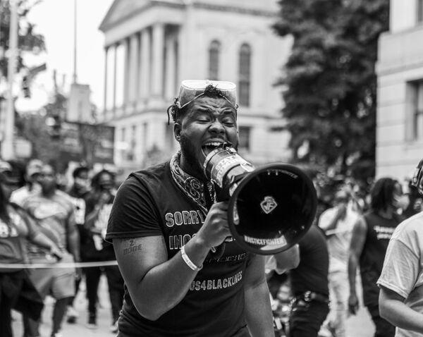 La foto Protesta di Atlanta del fotografo americano Zek Harris - Sputnik Italia