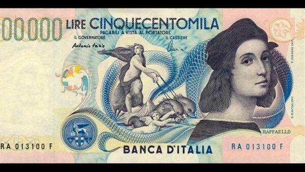 Banconota da 500mila lire - retro, autoritratto di Raffaello - Sputnik Italia