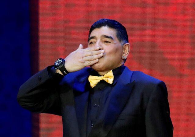 Diego Armando Maradona (foto d'archivio)