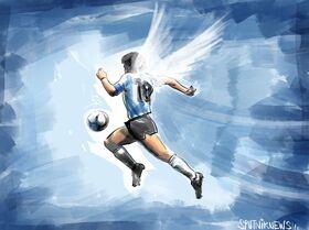 Addio a Diego Maradona